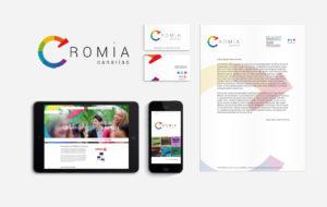 Cromia Canarias Diseño web