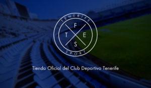 tenerife sport diseño logo tienda cd tenerife