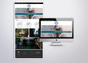 Bike4Walk diseño web UX UI Señor Creativo