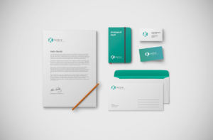 Kinesik diseño logotipo marca papeleria señor creativo