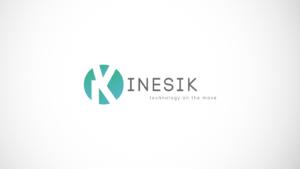 Kinesik diseño logotipo marca señor creativo