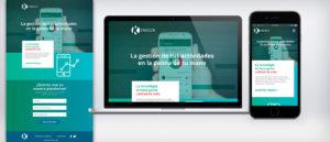 Kinesik diseño web UI UX señor creativo