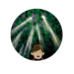 Si los almendros florece en diciembre ilustracion libro infantil Senorcreativo