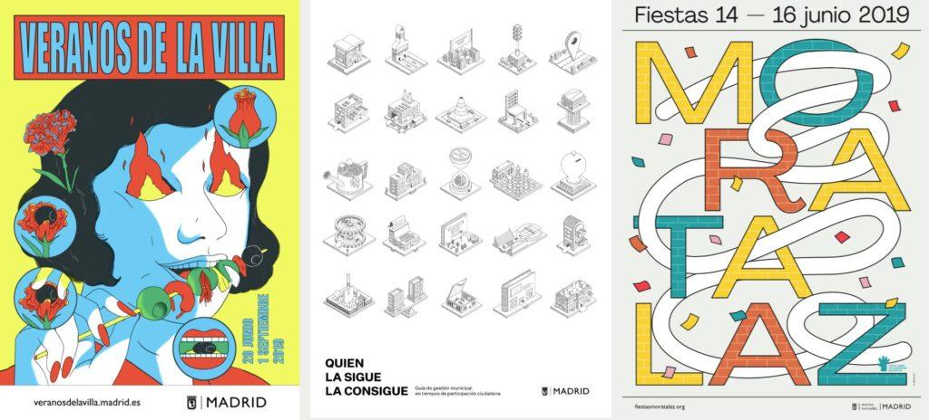 Diseño de carteles Madrid