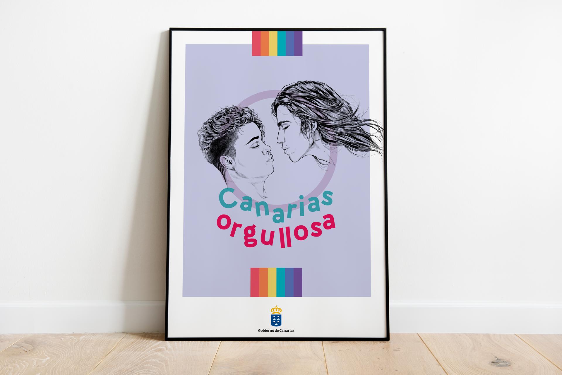Canarias Orgullosa Poster 2